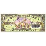 2005 - Disney Estados Unidos billete de 1 Dólar