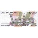 1998 - Ecuador P127c 10,000 Sucres banknote