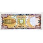 1999 - Ecuador P130b billete de 50.000 Sucres