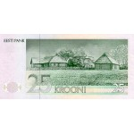 1991 -  Estonia Pic 73a   25 Krooni  banknote