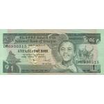 1987- Ethiopia Pic 36 1 Birr  banknote