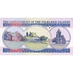 1984 - Falkland, Islands P13 1Pound banknote