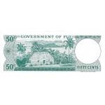 1969 - Islas Fiji P58a billete de  50 Centavos