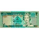 1996 - Fiji Islands P96b 2 Dollars banknote