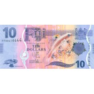 2013 - Fiji Islands P116a 10 Dollars banknote