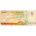 1993 - Fiji Islands P89a 1 Dollar banknote
