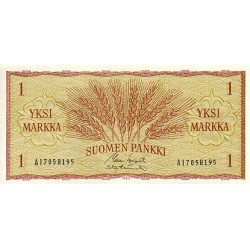 1963 - Finland Pic 98   1 Marc banknote