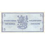 1963 - Finland Pic 99   5 Marcs banknote