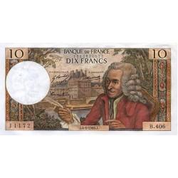 1963 - France Pic 147   10 Francs (F)  banknote