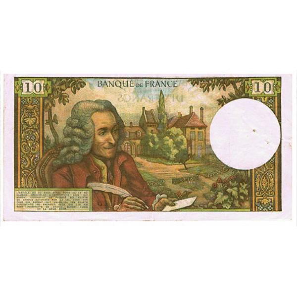 1963/73 - France Pic 147   10 Francs (VF)  banknote