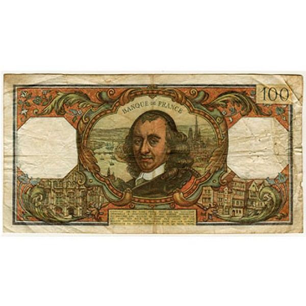 1977 - France Pic 149   100 Francs  banknote (F)