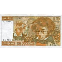 1975 - France Pic 150b  10 Francs  banknote