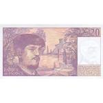 1980/87 - France Pic 151 F   20 Francs  banknote