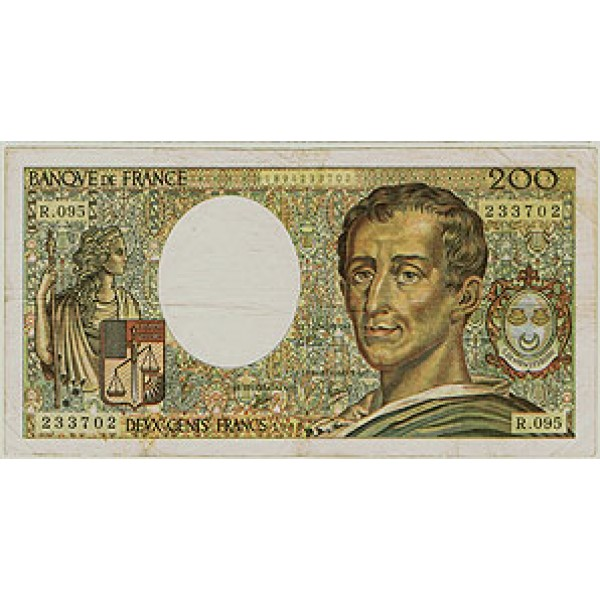 1990 - France Pic 155d   F   200 Francs  banknote