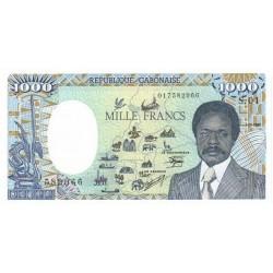 1985 -  Gabon Pic 9     1000 Francs banknote