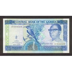 1991/95 -  Gambia PIC 14   25 Dalasis   banknote