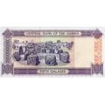 2001/05 -  Gambia PIC 23b  50 Dalasis f11  banknote