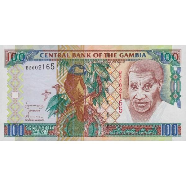 2001/05 -  Gambia PIC 24c   1000 Dalasis f15  banknote