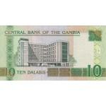 2006 -  Gambia pic 26  billete de   10 Dalasis  f15