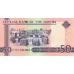 2006 -  Gambia pic 28a  billete de   50 Dalasis  f15