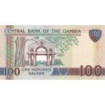 2006 -  Gambia PIC 29a  100 Dalasis f15  banknote