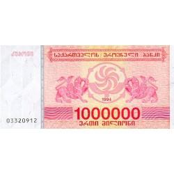 1994 - Georgia PIC 52      1.000.000 Laris banknote