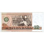 1971 - Germany D. Rep. Pic 28b   10 D. Marks  banknote