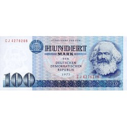 1975 - Germany D. Rep. Pic 31b   100 D. Marks  banknote