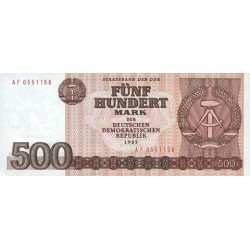 1985 - Germany D. Rep. Pic 33   500 D. Marks  banknote