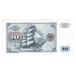 1989 - Germany_Fed_Rep PIC 19a VF 10 D.Marks  banknote