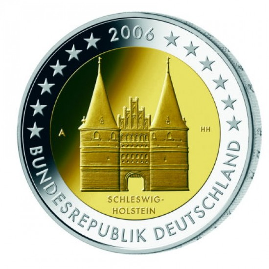 2006 - Germany 2 Euros commemorative coin Schleswig Holstein
