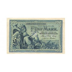 1904 - Germany  Pic 8b             5 Marks banknote