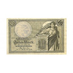 1907 - Germany   Pic 30            100 Marks F banknote