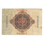 1910 - Germany   Pic 40a          20 Millons Marks F banknote