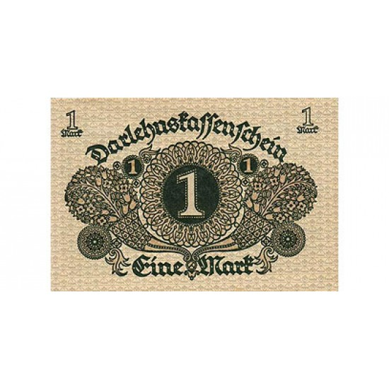 1920 -  Germany PIC 58           1 Mark banknote