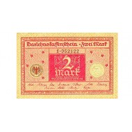 1920 -  Germany PIC 59          2 Marks  banknote