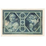 1915 -  Germany   Pic 63           20 Marks banknote