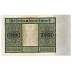 1922 -  Germany  PIC 71    10.000 Marks XF banknote