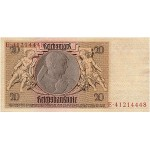 1929 -  Germany PIC 181b        20 Reichsmarks banknote