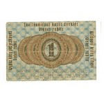 1916 -   Germany  PIC  R122      1 Rubei VF  banknote