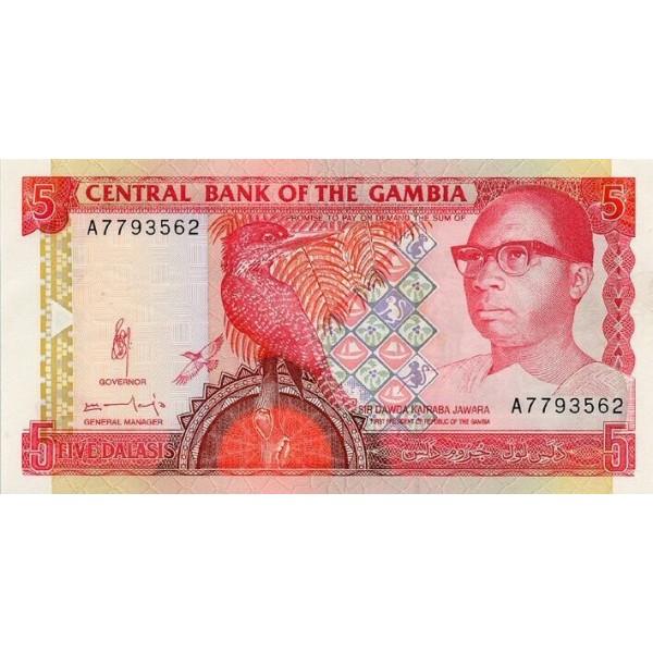 1969- Ghana Pic 12b 10 Cedis  banknote