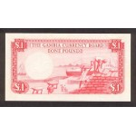 1962- Ghana pic 2a billete 1 Libra