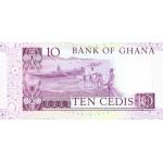 1982- Ghana pic 20d billete 10 Cedis