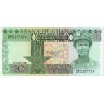 1982 - Ghana Pic 21c 20 Cedis  banknote