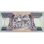 1986- Ghana pic 26a billete 100 Cedis