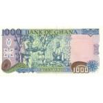 1996 - Ghana pic 29b billete 1000 Cedis