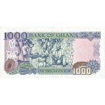 2001 - Ghana Pic 32g 1000 Cedis  banknote   10/2001