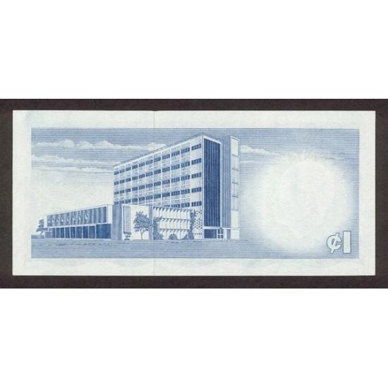1965- Ghana Pic 5  1Cedi  banknote
