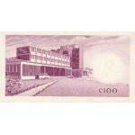 1965- Ghana pic 9a billete 100 Cedis