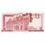 1986 - Gibraltar PIC 20d   1 Pound banknote